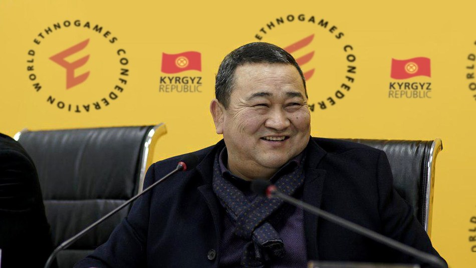 Mr. Askhat Akibayev, President of World Ethnogames Confederation, Republic of Kyrgyzstan (PRNewsfoto/World Ethnogames)