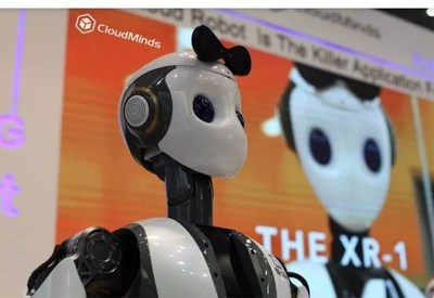 CloudMinds Technology Launches its Cloud-based Intelligent Service Robot - XR-1