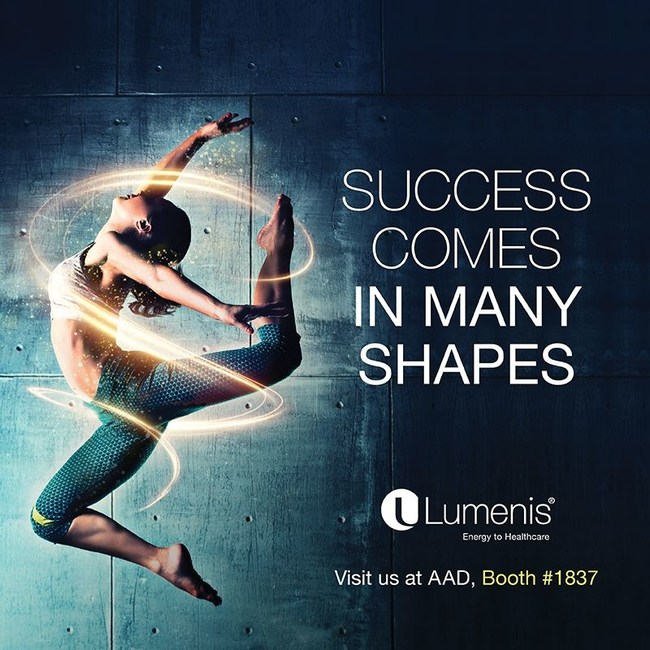 Lumenis Unveils a Wide Range of Innovative Technologies for Multiple Skin and Body Applications at the 2019 American Academy of Dermatology (AAD) Conference