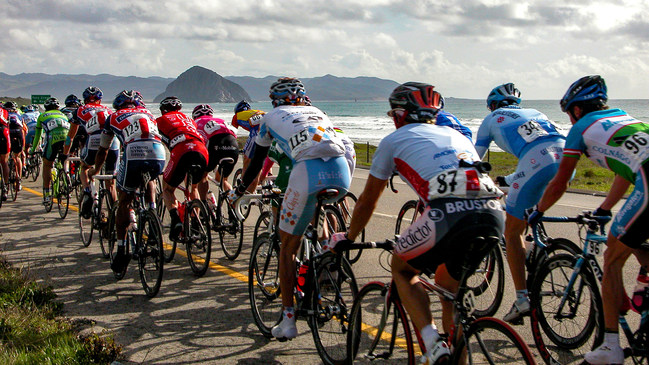 Photo Credit: Hunter Kilpatrick The 2019 Amgen Tour of California announced Morro Bay will host the Stage 4 Finish of the men's race on May 15, 2019.