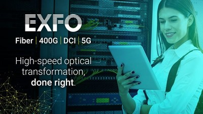 EXFO is exhibiting its portfolio of intelligent, automated test and measurement solutions for the next wave of high-speed optical networks at the Optical Fiber Communications Conference (OFC) (CNW Group/EXFO Inc.)