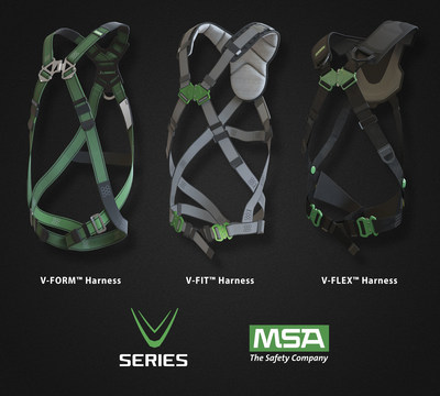 MSA Expands V-Series Line of Fall Protection Offerings; Introduces the V-FORM and V-FIT Harnesses.