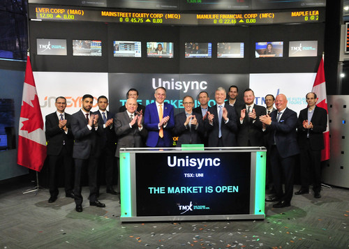Unisync Corp. Opens the Market (CNW Group/TMX Group Limited)