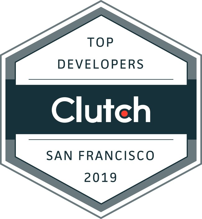 Clutch Leaders Award - Top Developers, San Francisco