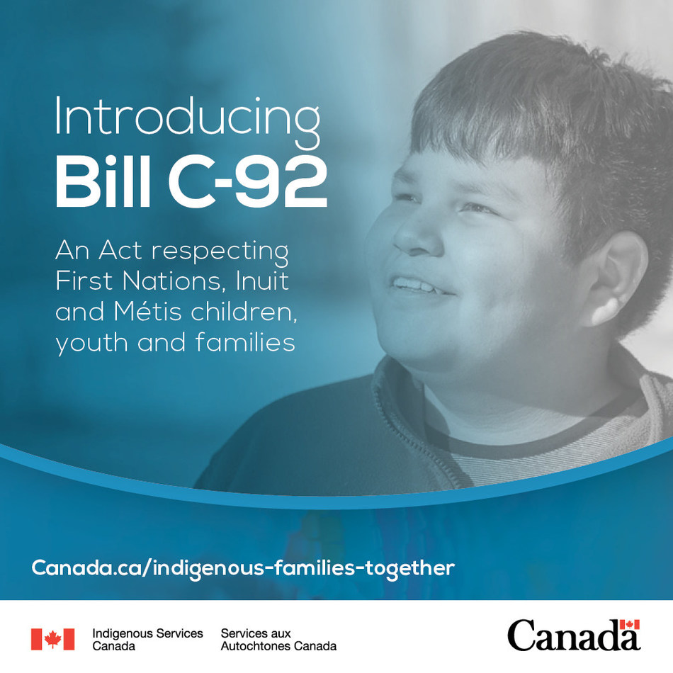 Government of Canada, Assembly of First Nations, Inuit Tapiriit Kanatami, Métis National Council celebrate the introduction of Bill C-92 (CNW Group/Indigenous Services Canada)