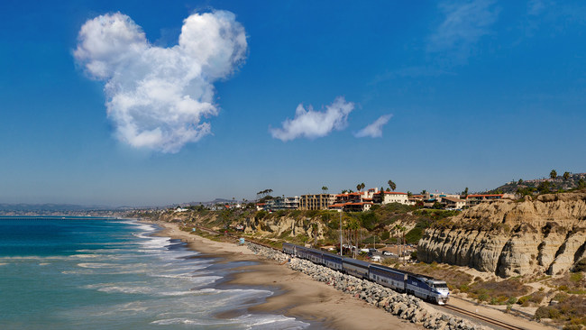 Amtrak Pacific Surfliner Offers Savings on Train Travel and Disneyland® Resort Theme Park Admission