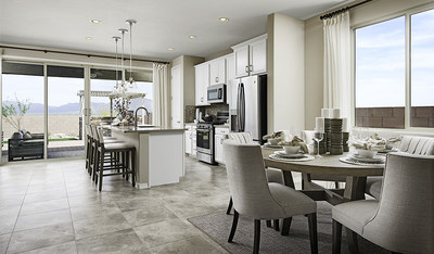 Open layout in Pearl model home