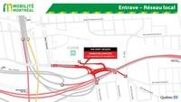 Entrave - Réseau local (Groupe CNW/Ministère des Transports)