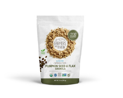One Degree Organic Foods to Debut New Sprouted Pumpkin Seed and Flax