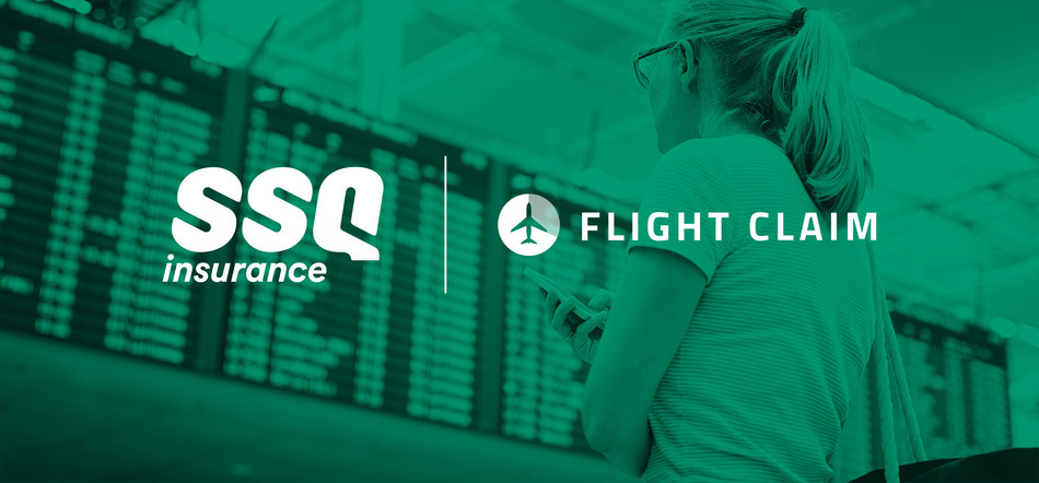 SSQ Insurance innovates by associating with FlightClaim.ca for the benefit of its community of insureds (CNW Group/SSQ Insurance)