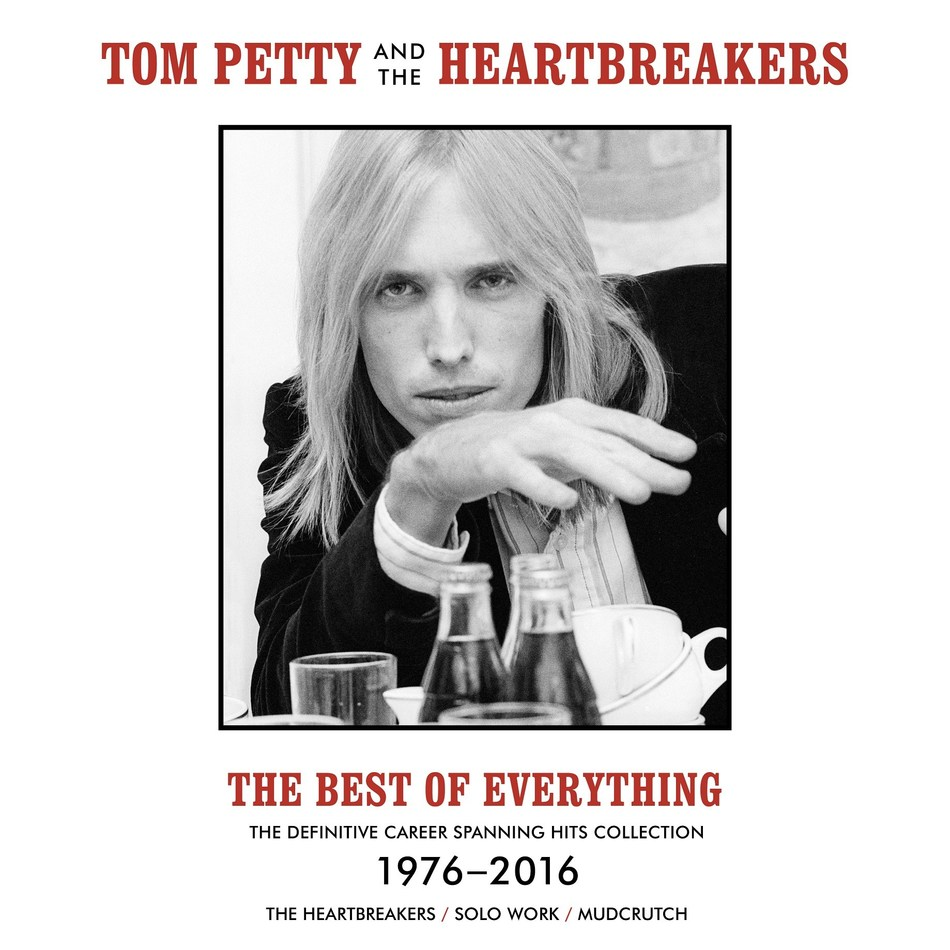 'The Best Of Everything,' the first career-spanning collection of Tom Petty's hits—including songs from his solo projects, songs with The Heartbreakers, as well as essentials from the reformed Mudcrutch—is out today via Geffen Records/UMe.