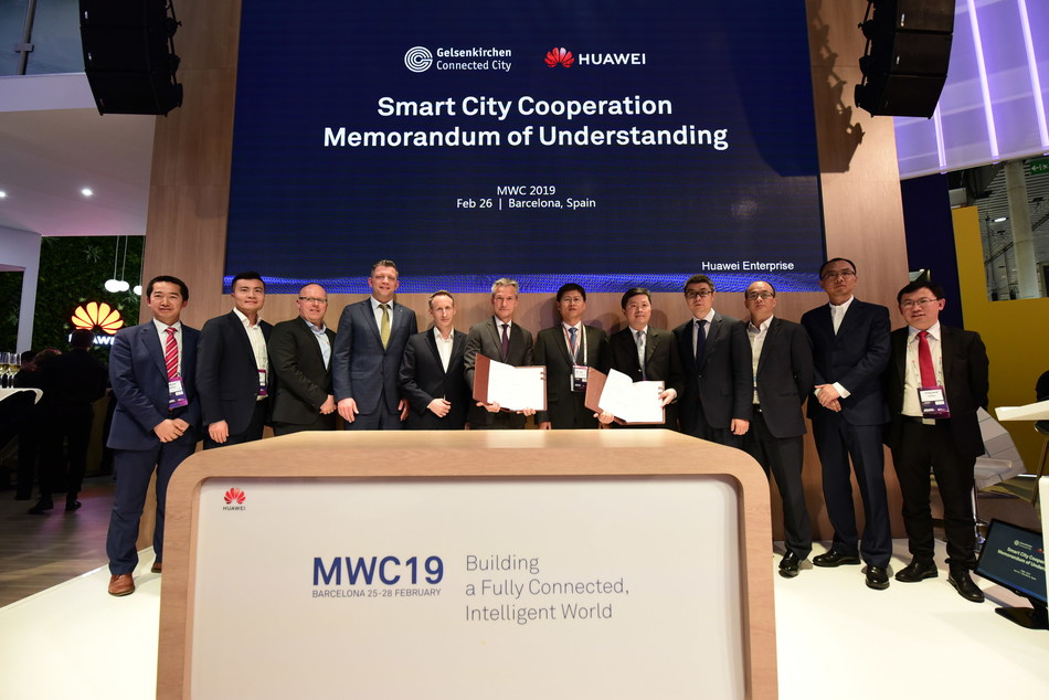 Huawei and Gelsenkirchen MoU Signing Ceremony for Smart City