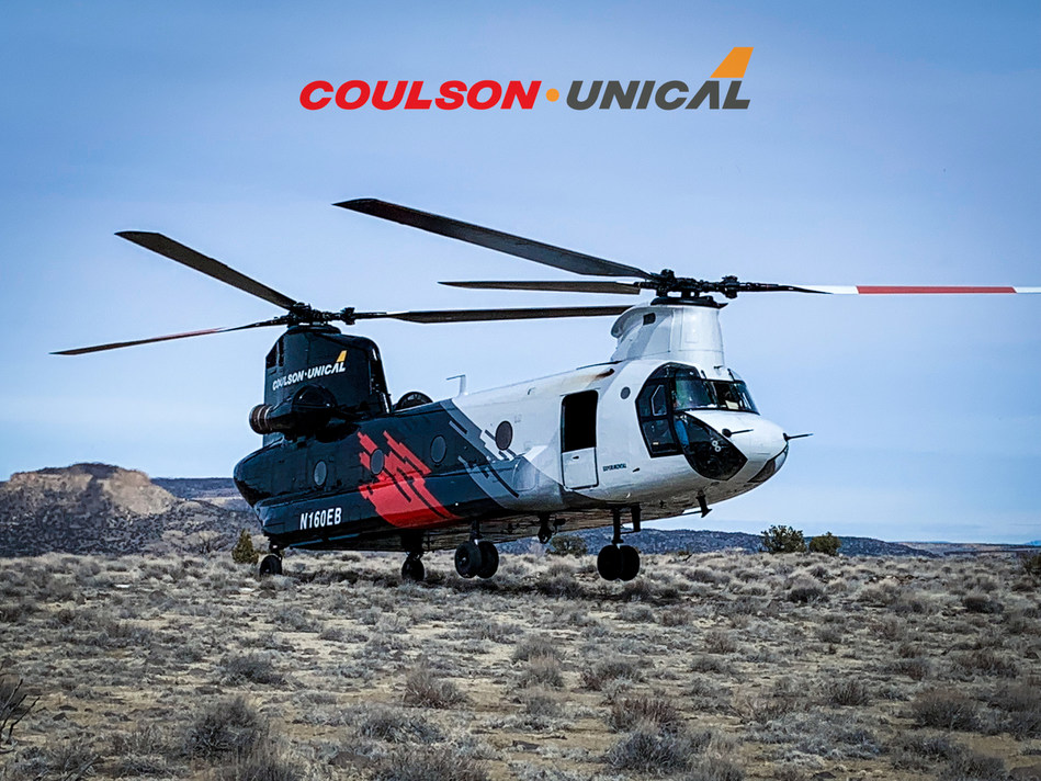 Coulson • Unical CH-47 (CNW Group/The Coulson Group of Companies)