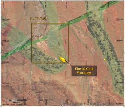 Figure 1. Tardarinna Project - Project Geology & Historical Mining (CNW Group/Pacton Gold Inc.)