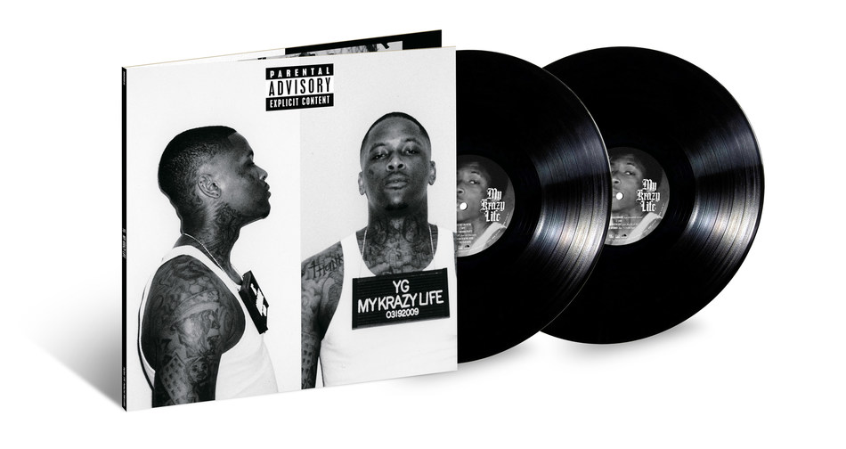 Urban Legends & Def Jam Recordings Release YG's 'My Krazy Life' On 2LP Vinyl In Celebration Of Its 5th Anniversary On March 15