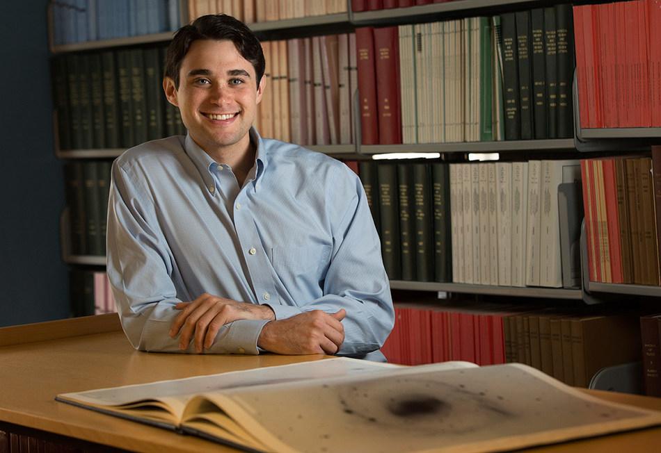Science journalist Joshua Sokol. Photo by Laurence Kesterson.