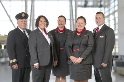 Air Canada est nommée parmi les employeurs canadiens les plus favorables à la diversité pour la quatrième année consécutive (Groupe CNW/Air Canada)