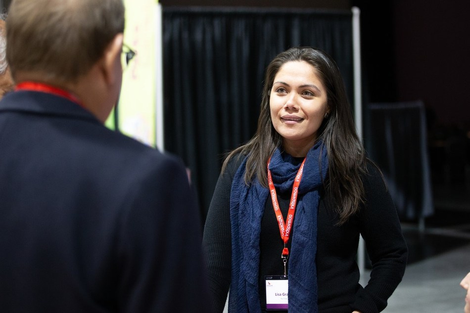 Rio Tinto's Lisa Grant at Indspire's Soaring: Indigenous Youth Empowerment Gathering (CNW Group/Rio Tinto)
