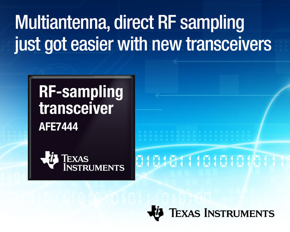 TI transceivers simplify design while delivering the industry's widest frequency range and smallest footprint for defense, and test and measurement applications
