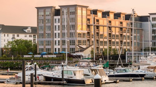 Baypointe - a past Belpointe multifamily development located in Stamford, CT on the water in an Opportunity Zone