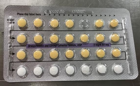 Blister with missing active tablet (CNW Group/Apotex Corp.)