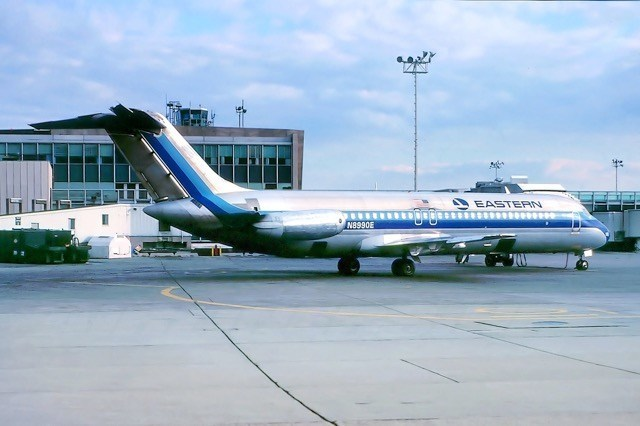 Eastern Air Lines DC-9 Tail #N8990E