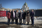 Inauguration of Major Development Project Worksite at Saint Joseph's Oratory of Mount Royal and Introduction of Reaching New Heights Campaign Cabinet