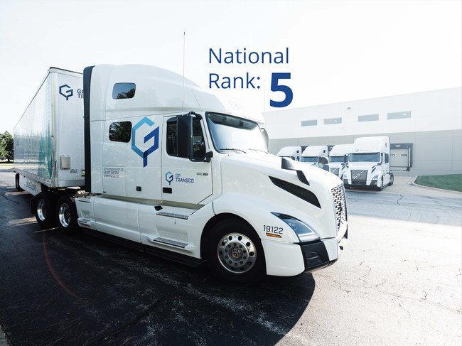GP Transco ranked 5th highest-paying carrier in the US