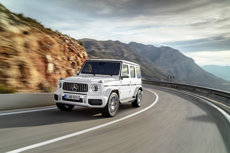 The brand's most iconic SUV, the G-Wagon, saw the most notable growth in February (+597.2% compared to February 2018). (CNW Group/Mercedes-Benz Canada Inc.)