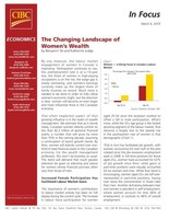 The Changing Landscape of Women's Wealth (CNW Group/CIBC - Economic Research)