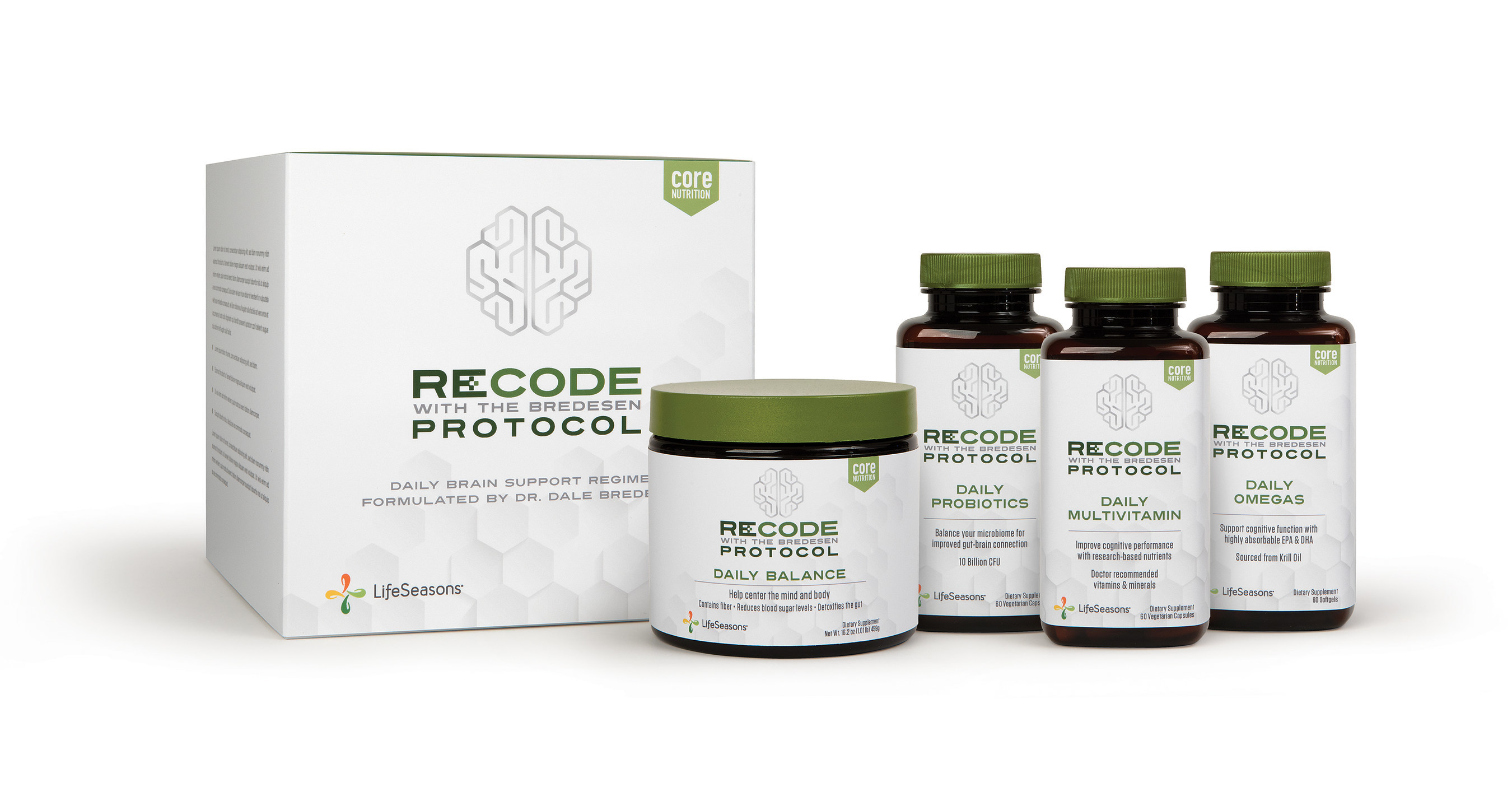 LifeSeasons and Dr. Dale Bredesen Announce New Products to Support the  Treatment of Alzheimer's Disease and Cognitive Decline