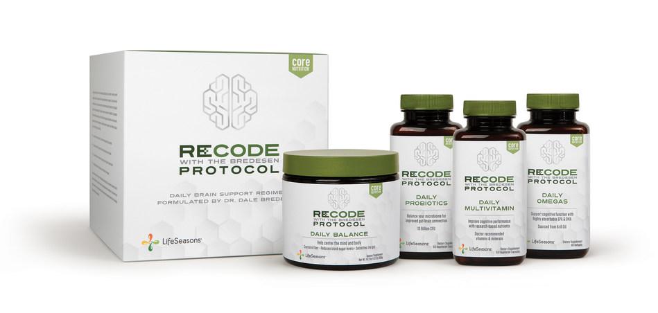 主要な神経内科医Dale Bredesen、MDの研究に基づいて認知的健康をサポートするために戦略的に処方された、ターゲットを絞った栄養補助食品のラインであるReCODEプロトコルをご紹介します。