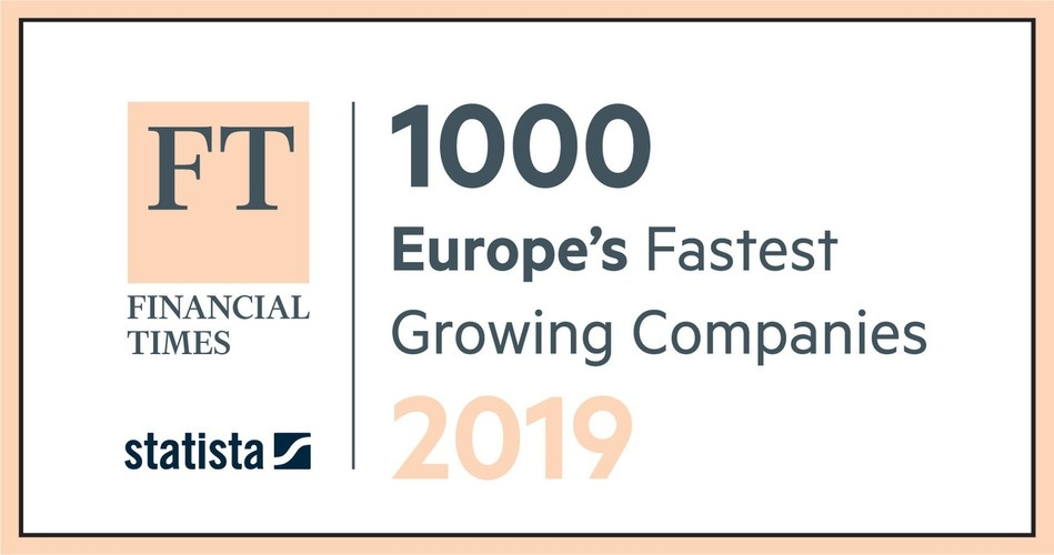 FT 1000 Europe's Fastest Growing Companies 2019