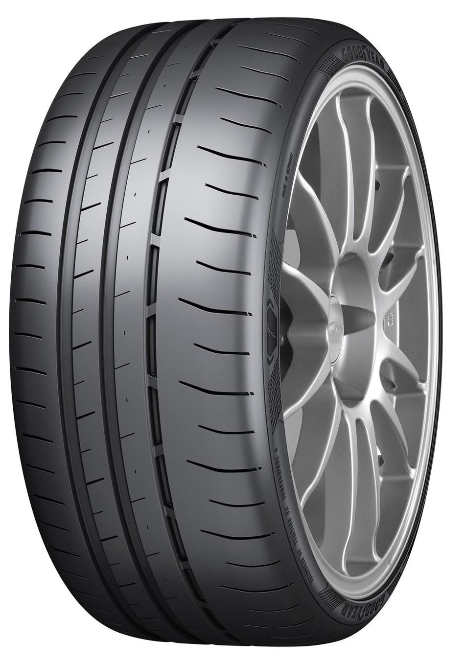 Eagle F1 SuperSport R Tire shots (3-4 view only) Original 92718 (PRNewsfoto/Goodyear)