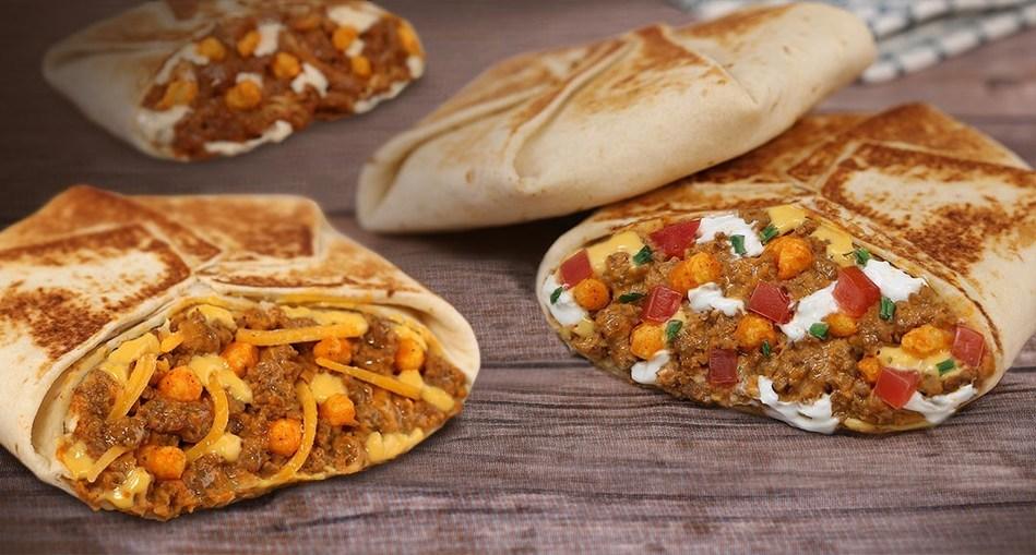 Cheetos® Crunchwrap Slider (CNW Group/Taco Bell Canada)