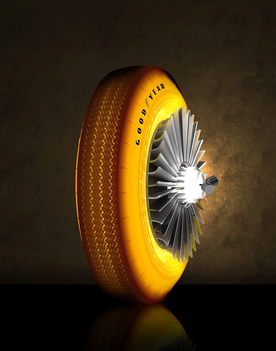 Golden Sahara Tire 3-4 view BG