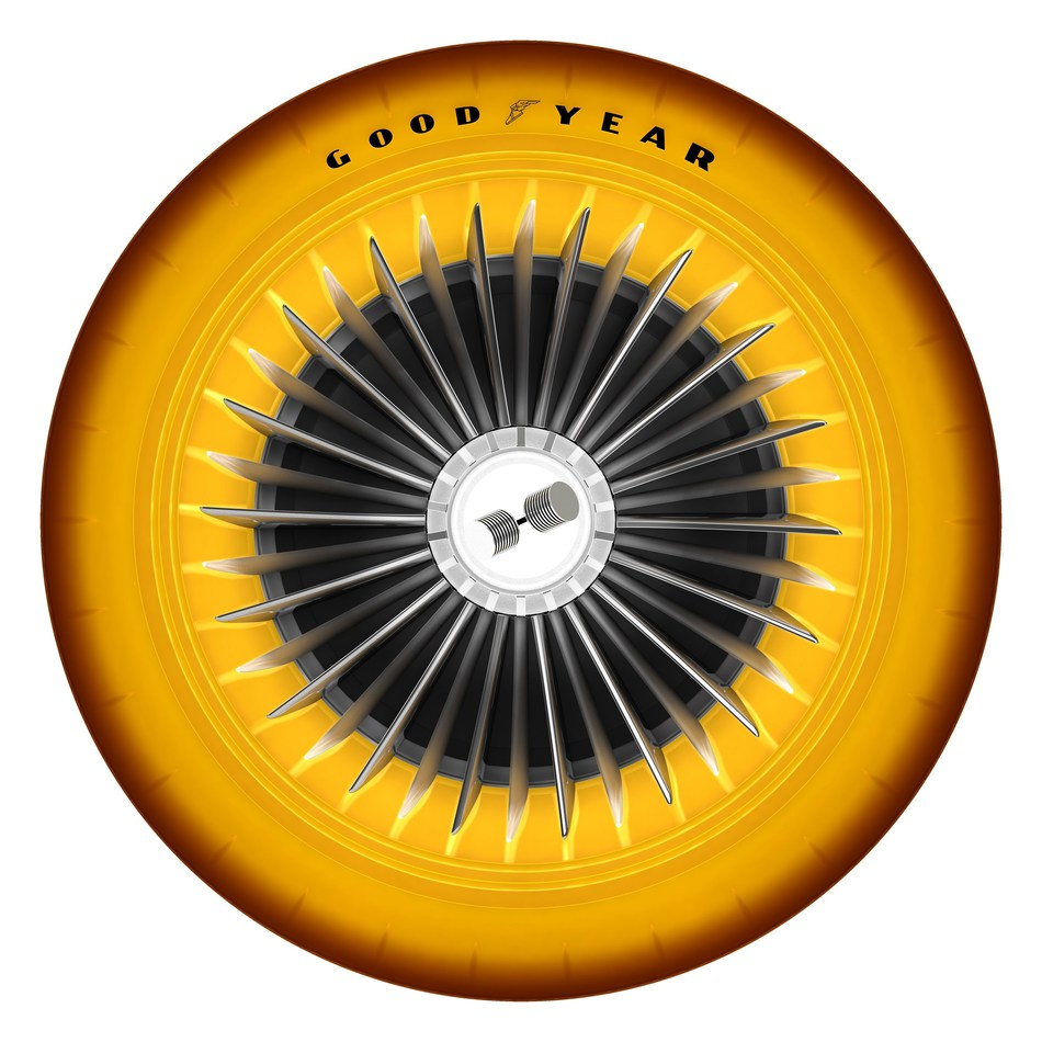 Golden Sahara Tire side view