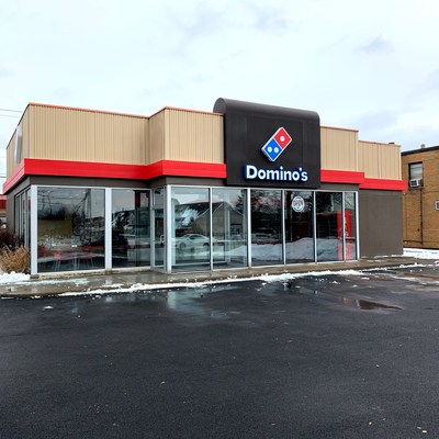 The 16,000th Domino's store located in Cheektowaga, New York