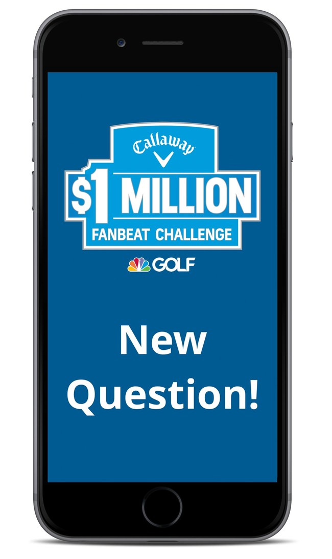 FanBeat, the live-action gaming platform that engages sports fans during breaks in the game, is rolling out its second season of Callaway's $1 Million FanBeat Challenge, in partnership with Callaway and GOLF Channel.
