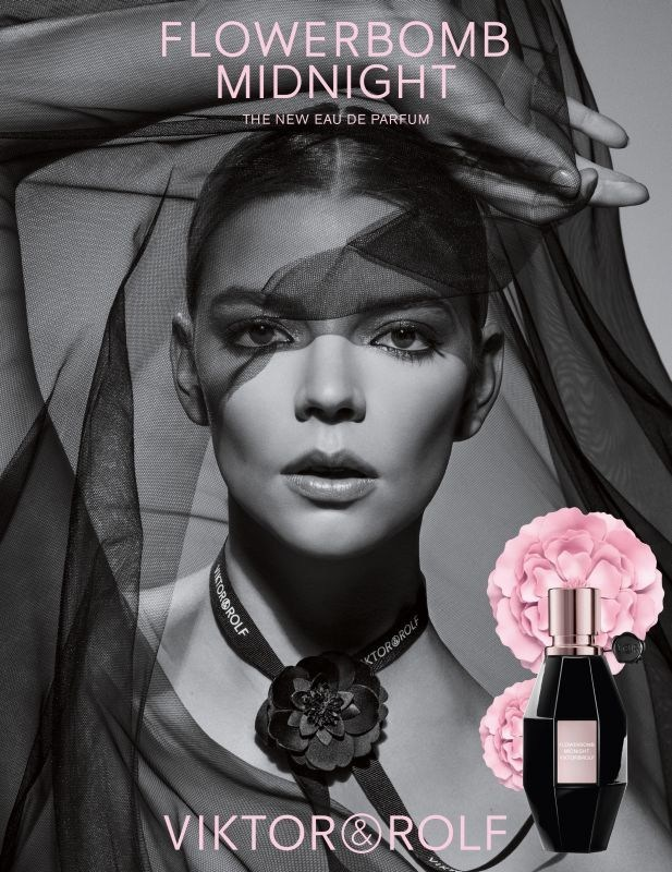 Flowerbomb Midnight campaign shot by Inez&Vinoodh (PRNewsfoto/Viktor&Rolf fragrances)