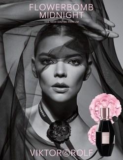 Flowerbomb Midnight campaign shot by Inez&Vinoodh