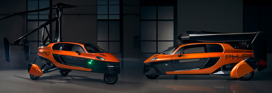 PAL-V unveils the production model of its limited edition flying car