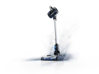 The new HOOVER® ONEPWR™ Blade™ stick vacuum features dual cyclonic DustVault™ Technology that captures 99% of dust and fine particles. It's part of the innovative HOOVER® ONEPWR™ Cordless System: 8 cord-free, high-performance cleaning products share the same powerful lithium-ion battery.
