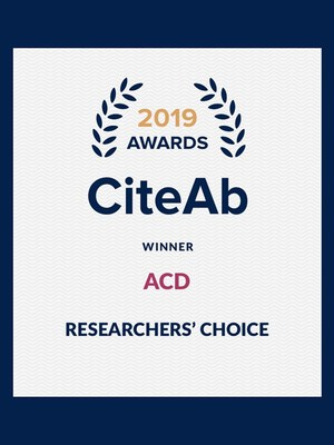 ACD wins Researchers' choice award