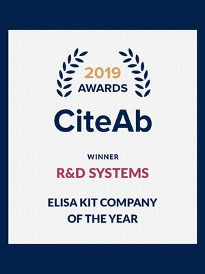 R&D Systems wins ELISA kit company of the year award
