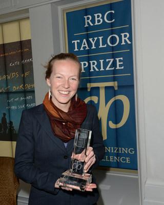 RBC Taylor Prize 2019  winner Kate Harris. Photo Tom Sandler (CNW Group/RBC Taylor Prize)