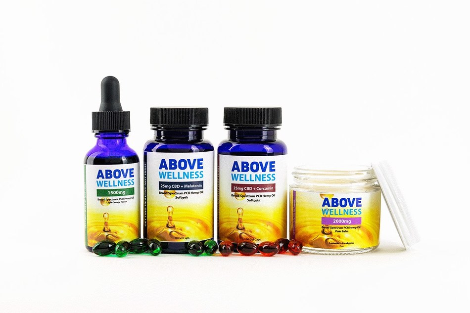 CBD USA Grown Launches New Line of 0 0% THC CBD Products, Above Wellness