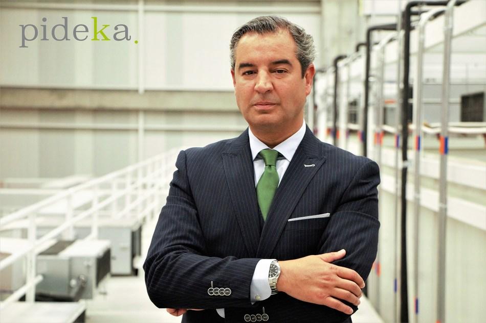 Borja Sanz de Madrid, Global Director of Operations for Pideka SAS (CNW Group/Pideka SAS)
