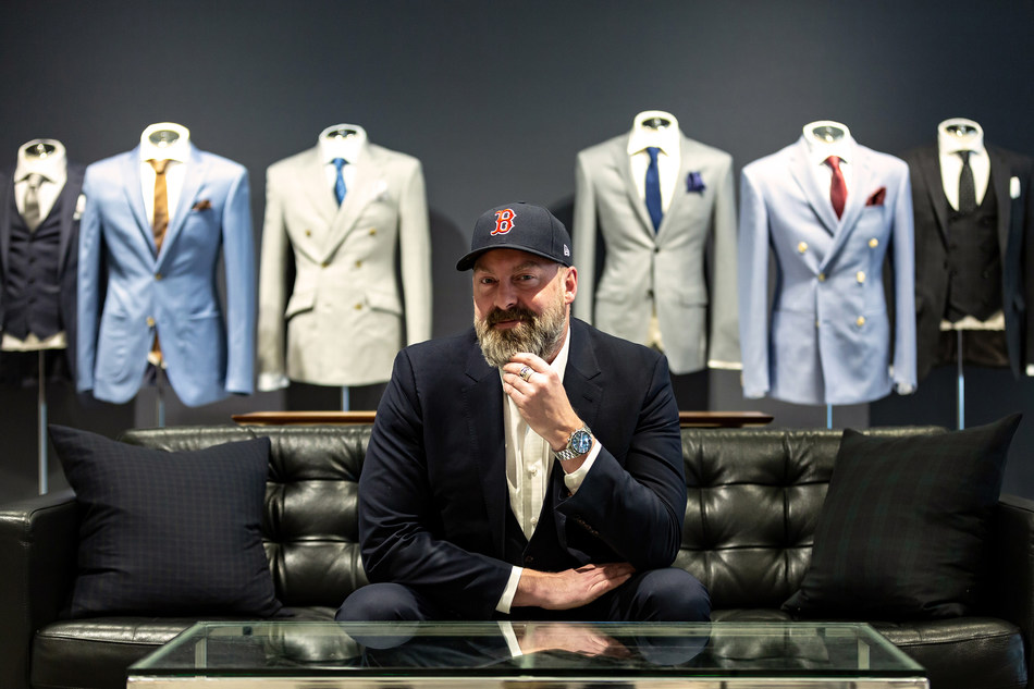 "Drew Green, President and CEO of INDOCHINO: ""The 2018 World Champion Boston Red Sox are a symbol of the city's will to win, with millions of fans locally and tens of millions more across the United States and around the world. We see our collaboration with the team as a tribute to the city of Boston, and to further revolutionize how Bostonians shop for clothing for generations to come."" (CNW Group/Indochino Apparel Inc.)"