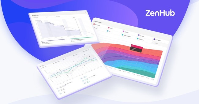 ZenHub's Reporting Suite, leveraged by software developers, project managers, and product owners, offers unmatched visibility into managing scope, speed of delivery, predictability of releases, and where bottlenecks persist.
